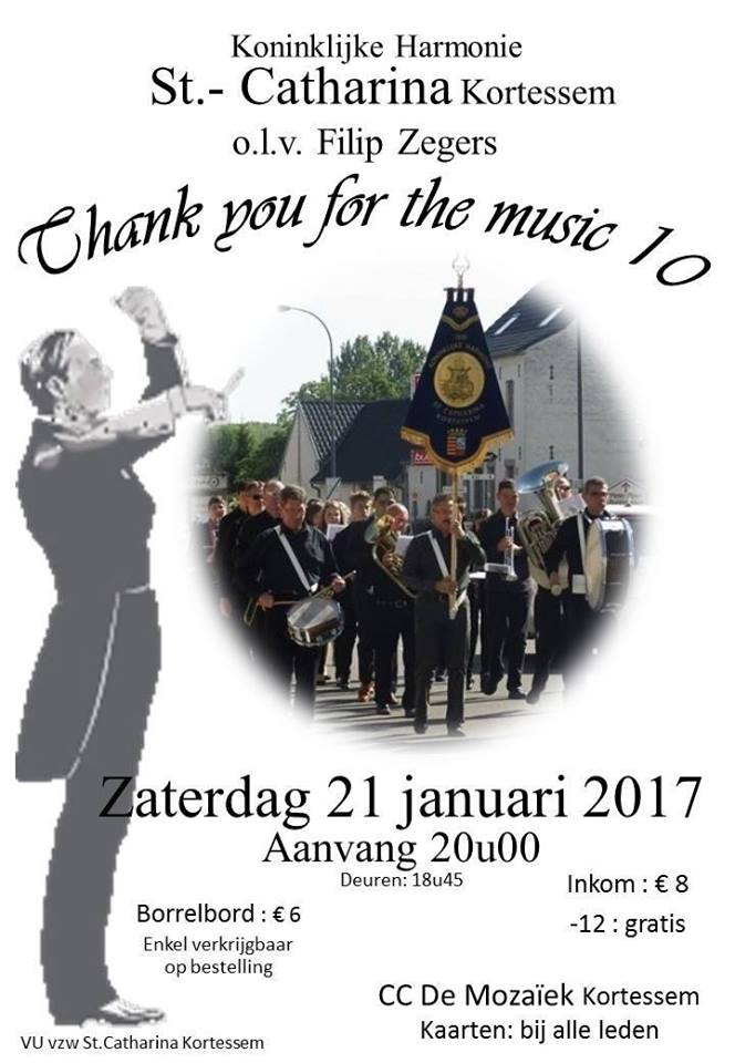 thank you for the music editie 10